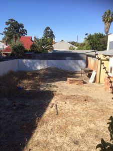 Before perth landscaping efforts