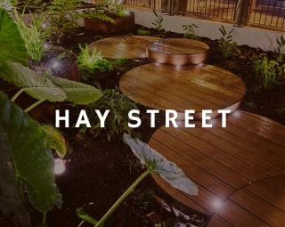 Hay Street landscaping project is one of our recent successful works.
